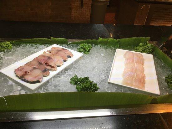 Catalonia Punta Cana Golf & Casino Resort: All fish we had