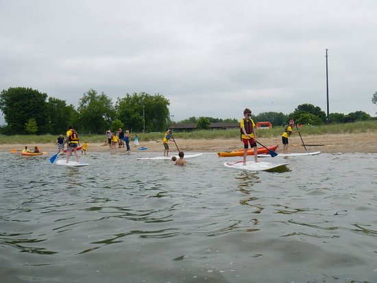 Sturgeon Bay, WI: Boards & Beer is always a blast. We start at Otumba Park and end the paddle at Starboard Brewing