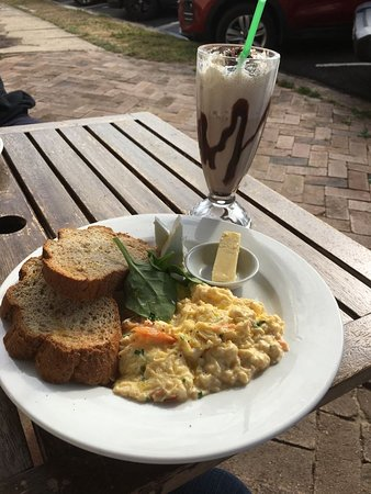 Queenscliff, أستراليا: Best Scrambled eggs in Queenscliff