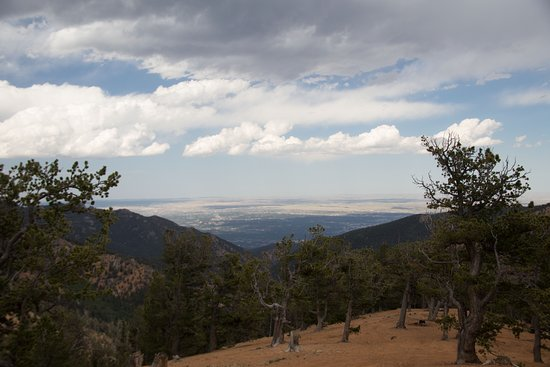 Old West High Country 4X4 Jeep Tour: View from well above Colorado Springs!