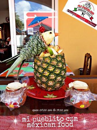 Ricas bebidas frescas en #mipueblitocozumel 🇲🇽🌵🍽🌶