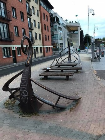 Viking Longboat Sculpture