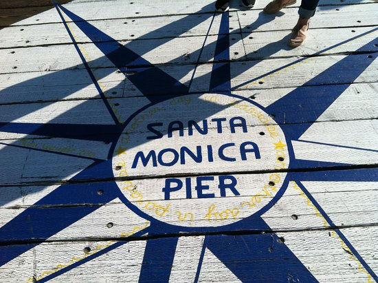 Santa Monica Pier: Star