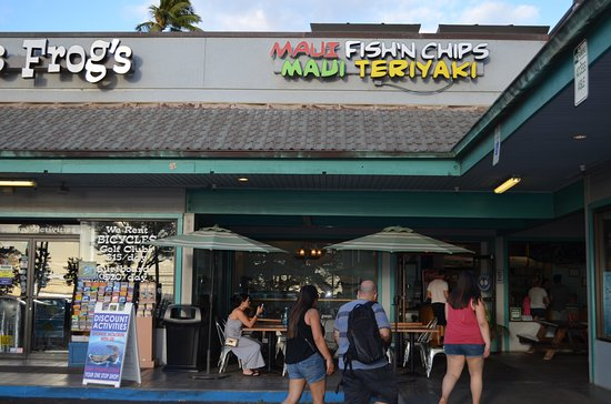 Maui Fish'n Chips: Store Front