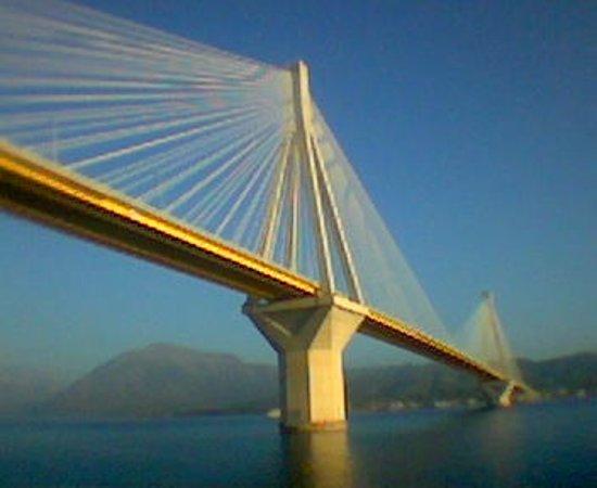 Rio-Antirrio Bridge (Charilaos Trikoupis): Γέφυρα Ρίο 3