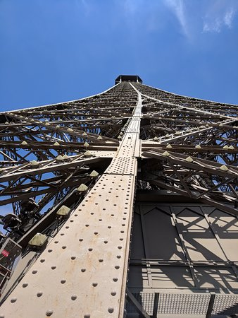 Eiffel Tower: There are many rivets to the top