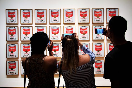 The Museum of Modern Art (MoMA): Andy Warhol's Soup Cans