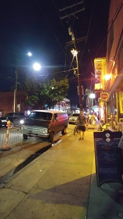Frenchmen Street: Looking South on Frenchmen from Royal St