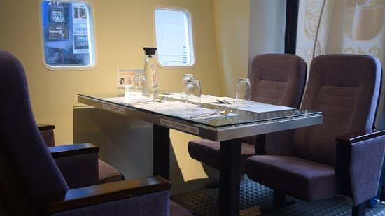 The 747 Galley by Cafe Proud Wings: Mock Up Aircraft Seats and Windows