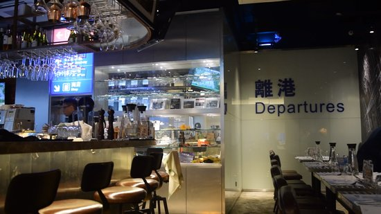 The 747 Galley by Cafe Proud Wings: Interior Design of the Restaurant