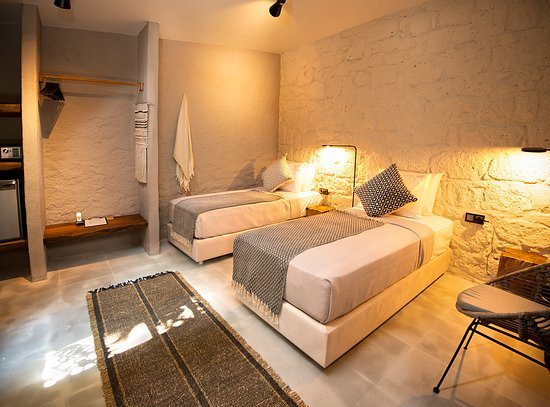 Gaia Hotel: 2 adet tek yataklı standard oda