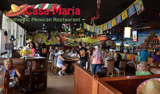 Casa Maria Mexican Cuisine: Casa Maria Authentic Mexican Restaurant Saint Augustine
