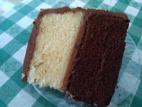 North Wilkesboro, NC: Tuxedo cake.