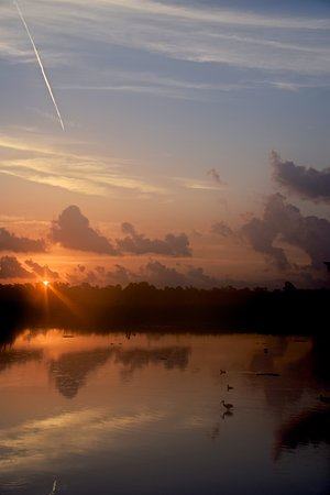 Sunrise at Cattail Marsh, Beaumont