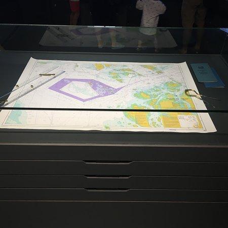Singapore Maritime Gallery: 新加坡海事展覽館內部