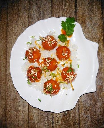 Baliku Restaurant: #balikurestaurant #amedrestaurant #dininginamed  #amedvegetarian #getfedinamed #baliku