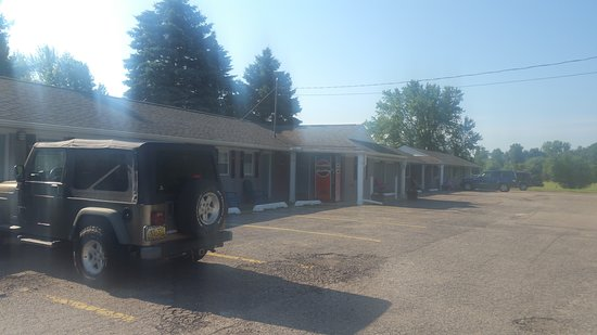 Durand, MI: Quiet little motel