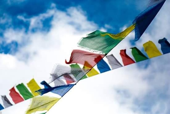 Himalayan Adventure: Buddhism flag