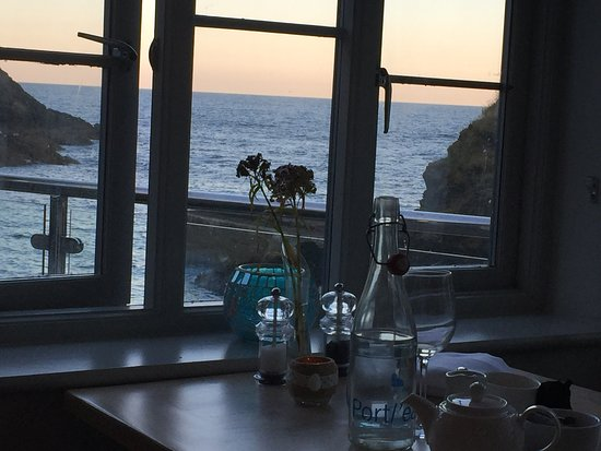 The Lugger Hotel: View from dinner table