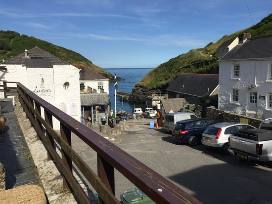 The Lugger Hotel: View from our terrace