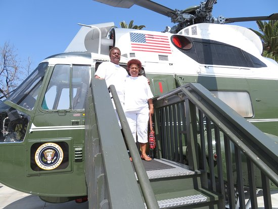 Richard Nixon Presidential Library and Museum: At the Presidential Helicopter