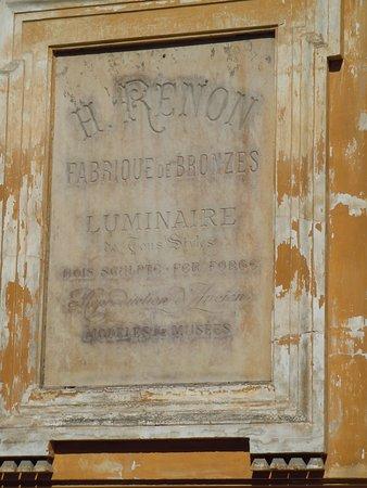 Hôtel de Chatillon: Plaque en façade