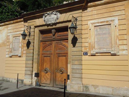Hôtel de Chatillon: Portail d'entrée