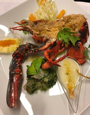 Ristorante Don Giovanni: Aragosta gratinata - Gratinated lobster