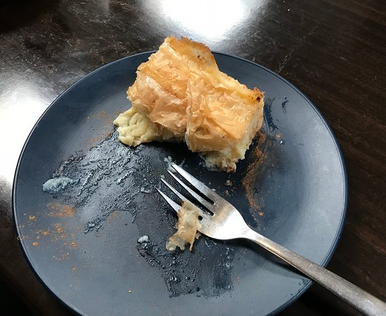 Food On The Hill: OMG - This Greek Custard Pie was SOOOO good, it was almost gone before I remembered to take a ph