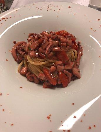 Ristorante Don Giovanni: Pasta del giorno : spaghetti con calamari - spaghetti with squid
