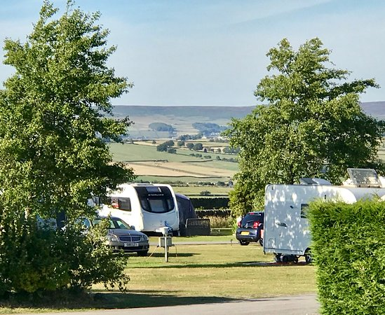 Oxenhope, UK: Touring Park June