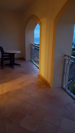 Hotel Las Aguilas: Balkon