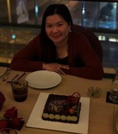 Teatro Downtown Restaurant: The birthday girl!