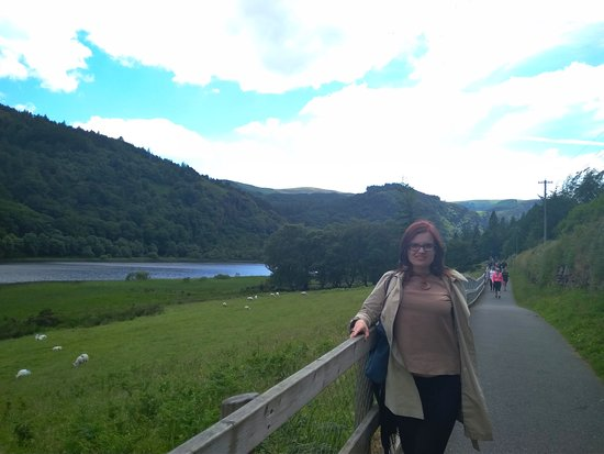 Kilkenny, Wicklow Mountains, Glendalough, Sheep Dog Trials, Day Trip from Dublin: At the lake