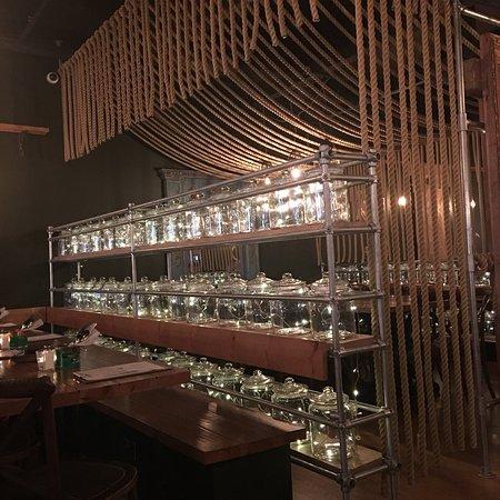 Mowgli Street Food Photo Swing Set Table