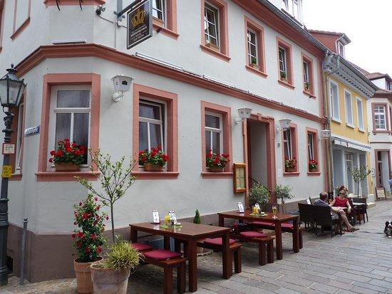 Hirschhorn (Neckar), Jerman: Hotel von außen