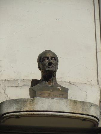 Buste d'Auguste Comte