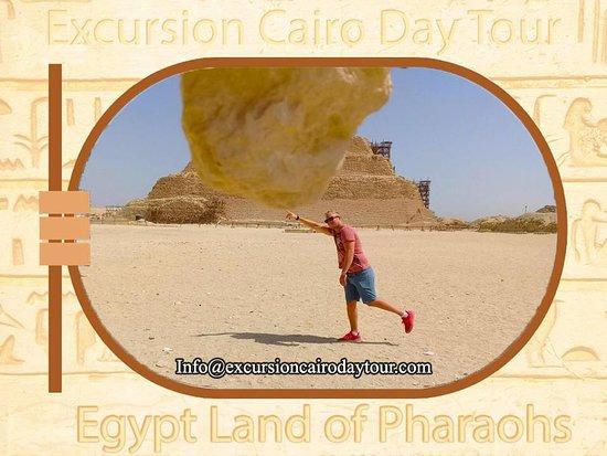 Excursion Cairo Day Tour: sakkara step pyramids