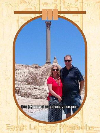 Excursion Cairo Day Tour: pompy's pillar alexandria