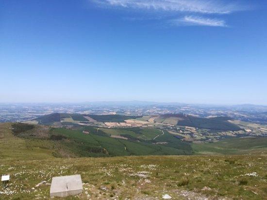Bilde fra Mount Leinster