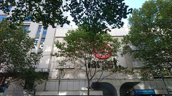 Target Centre Melbourne: 購物和飲食購物中心外觀