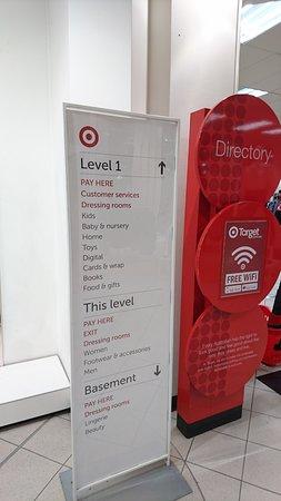 Target Centre Melbourne: 目標百貨公司樓層