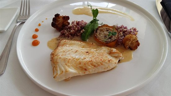 Carrelet En Filet Courgette Jaune Declinaison De Chou Fleur