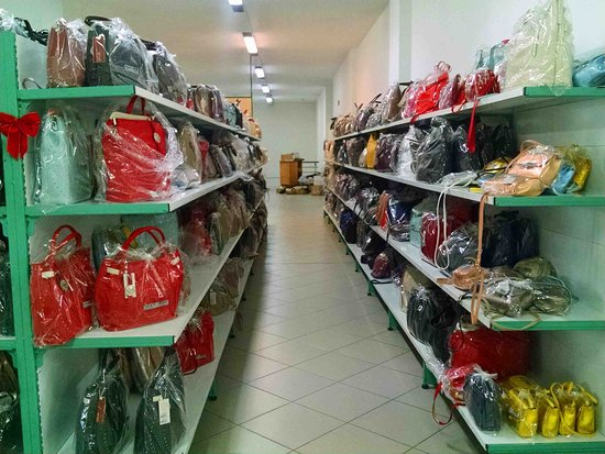 Giudi factory store in the country a few miles from the ...