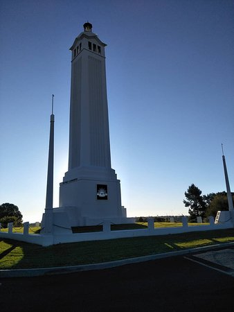 Parkes, Australia: The main memorial. Each side reflect different conflicts.