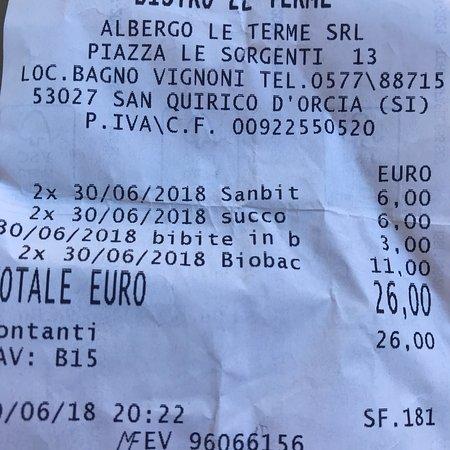 photo0.jpg - Picture of Le Terme, Bagno Vignoni - TripAdvisor