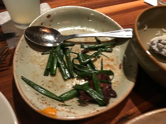 P.F. Chang's: Tasty Seasoning but Cold Mongolian Beef, Dried Up Beef