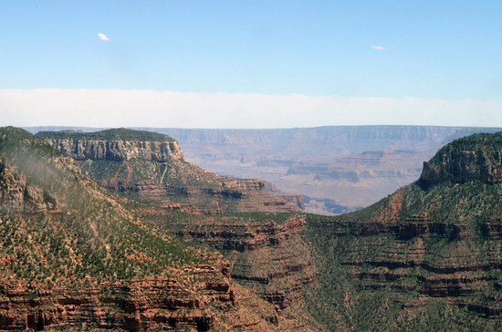 45-minute Helicopter Flight Over the Grand Canyon from Tusayan, Arizona: Vue aérienne Grand Canyon