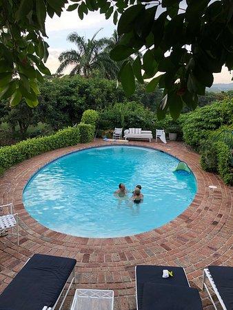 Round Hill Hotel and Villas: Family time in Villa 28's private pool