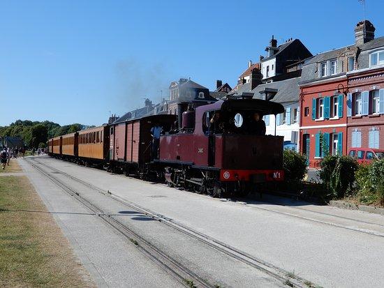 Tours et Remparts de Saint Valery sur Somme: Trein